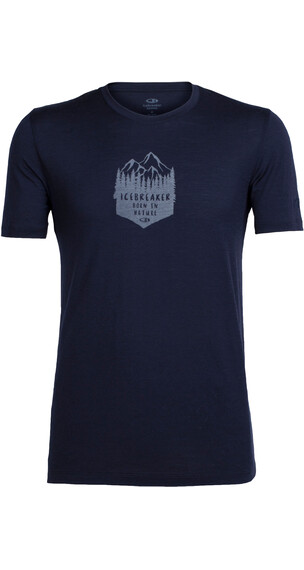 Icebreaker Tech Lite t-shirt Heren blauw